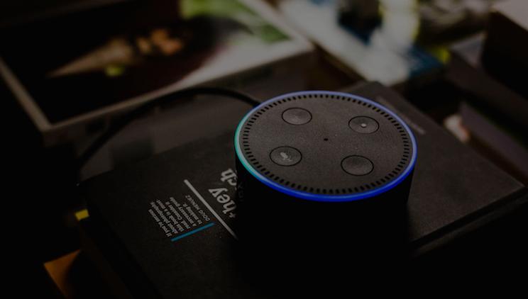 Amazon Alexa Smart Speaker med Voice Search